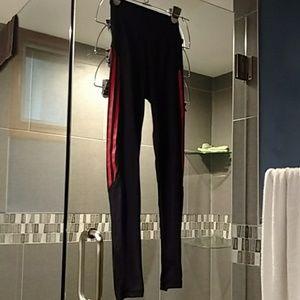 Women's XS Adidas red leggings